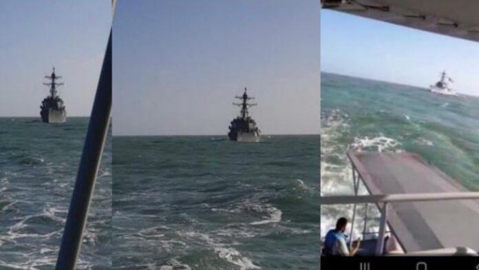 Gezamenlijke maritieme training Suriname en Amerika