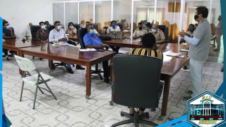 Presentatie 'Beheer en management Bigi Pan-gebied' gehouden