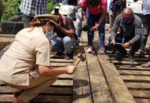 Startsein herstelwerkzaamheden infrastructuur Uitkijpolder