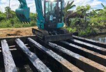 Voortzetting herstelwerkzaamheden infrastructuur Uitkijpolder
