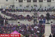 Trump aanhangers bestormen Amerikaanse parlementsgebouw