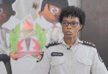 Politiewoordvoerder Rachel Deekman naar andere afdeling