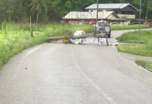 Weer EBS transformator-mast gesneuveld na aanrijding door automobilist