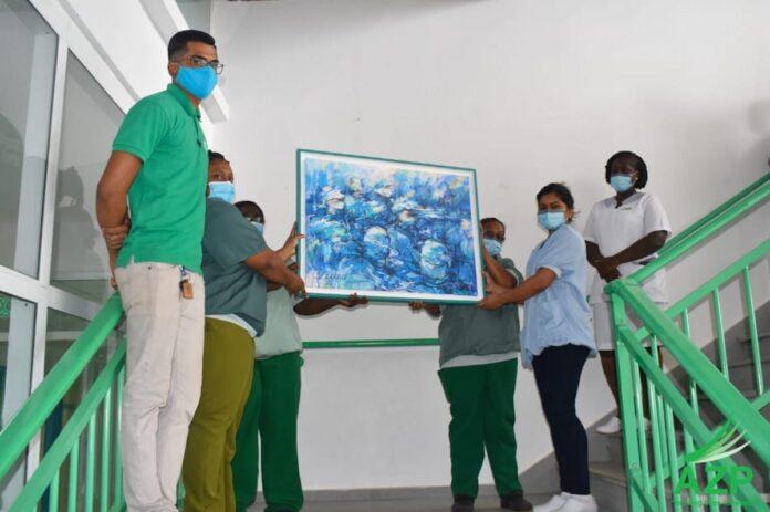 Moussi Issa NV geeft ook 'Grantangi' aan Academisch Ziekenhuis