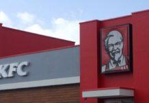 KFC vestiging in Suriname