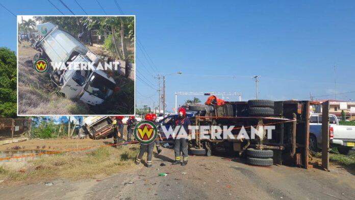 Zwaar verkeersongeval met meerdere voertuigen op Ringweg-Noord