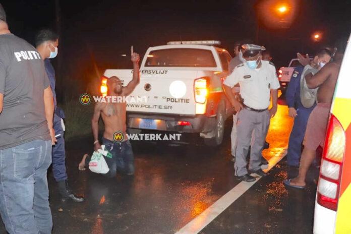 Lockdown overtreder 'Powisi' betrokken bij ongeval na achtervolging door politie