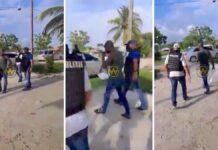VIDEO: Sibrano Pique aangehouden en overgedragen aan Narcotica Brigade