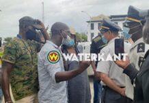 Sibrano Pique aangehouden en overgedragen aan Narcotica Brigade