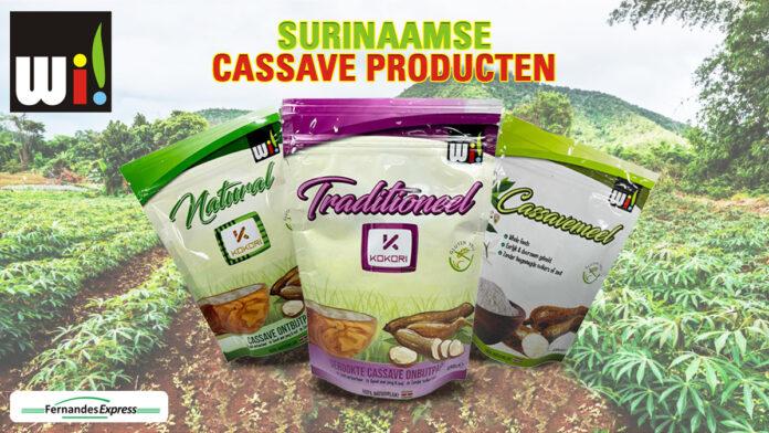 'Kokori' Cassave ontbijtpap nu ook online te koop bij Fernandes Express