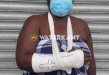 Vrouw loopt gebroken arm op nadat man haar probeert te beroven