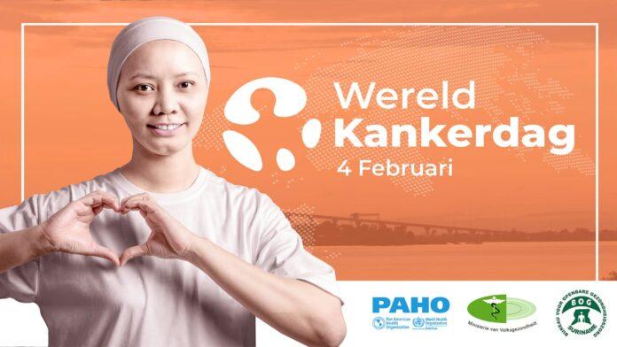 Ook aandacht in Suriname voor 'Wereld Kanker Dag' op 4 februari