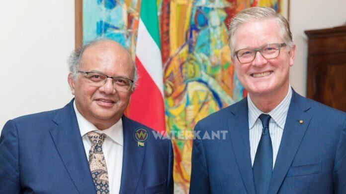 Ambassadeurs Khargi en Van der Zwan bieden vandaag geloofsbrieven aan
