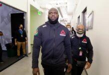'Bigi Boy' tijdens UFC in Las Vegas