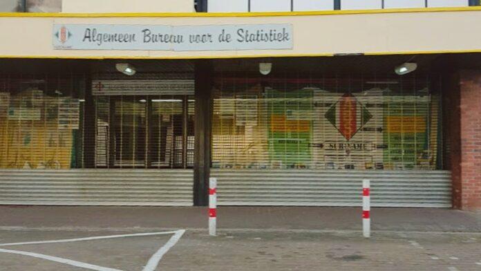 hoofdkantoor van het Algemeen Bureau voor de Statistiek ABS Suriname