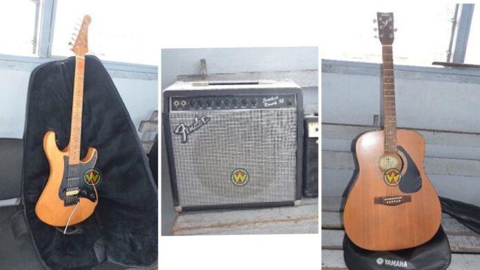 Politie zoekt benadeelden gestolen muziek spullen