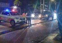 Lockdown-controle in Suriname