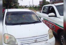 Twee lockdown overtreders slapend in auto aangetroffen
