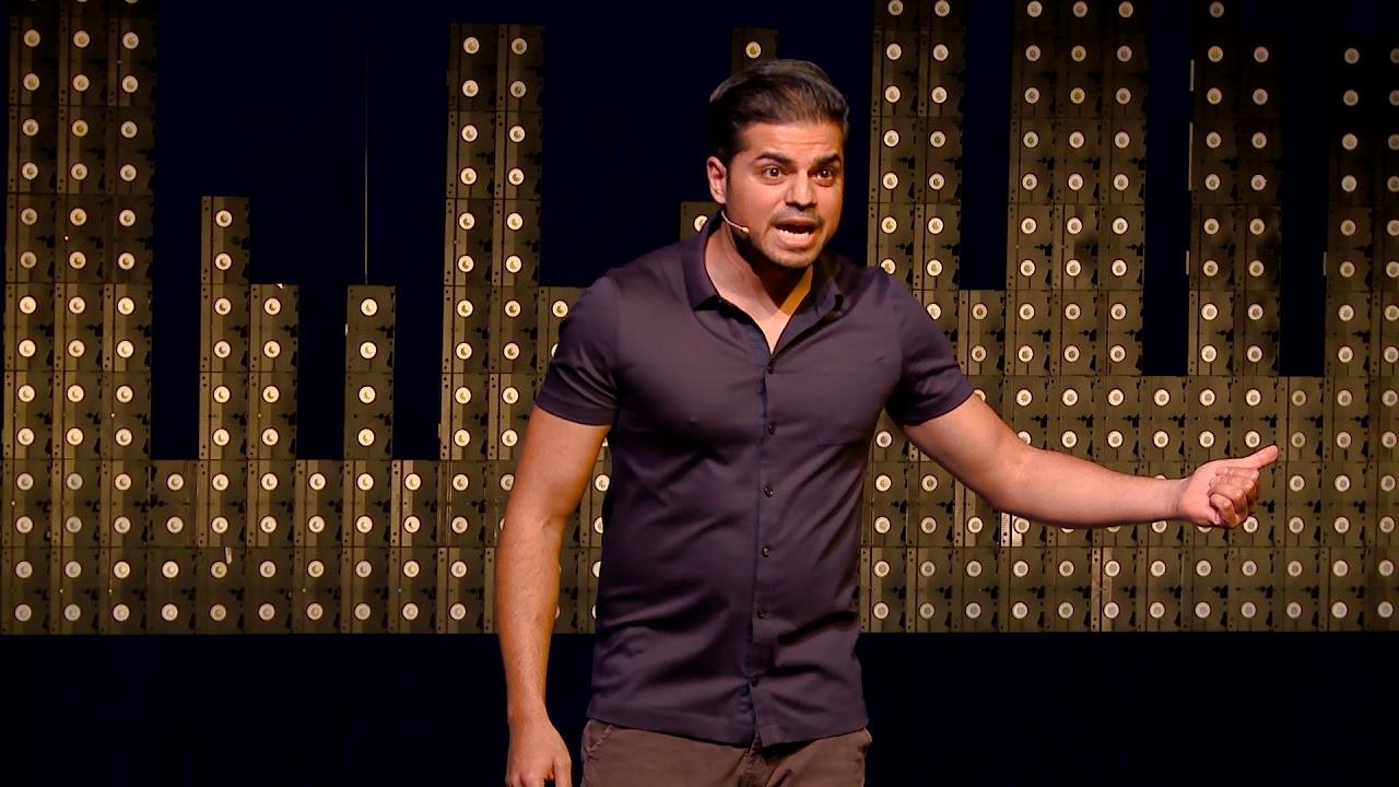 VIDEO: Show cabaretier Rayen Panday vanavond op SBS6 - Waterkant