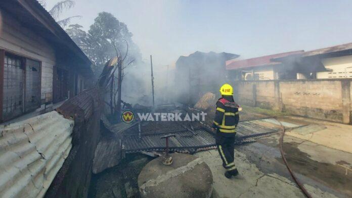 woning dagoebladstraat afgebrand