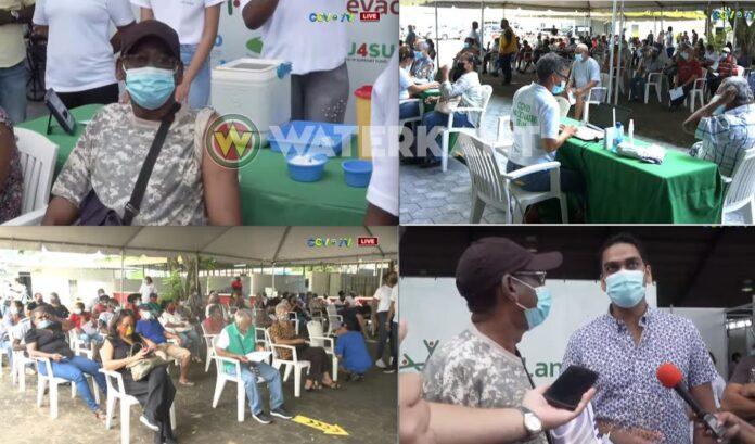 10.000ste COVID-19-vaccinatie in Suriname is een feit