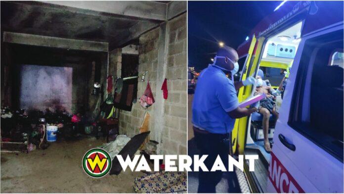 Man loopt brandwonden op bij beginnende brand in woning Kwattaweg