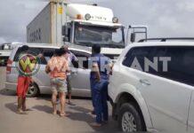 VIDEO: Verkeer uren vast na aanrijding op Bosje brug