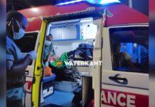 Vrouw met barstwond aan bloedend hoofd aangetroffen op straat