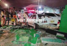 Drie auto's beschadigd bij aanrijding; veroorzaker doorgereden
