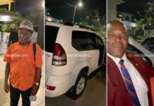 VIDEO: Vp Brunswijk regelt auto voor granman der Paramaccaners