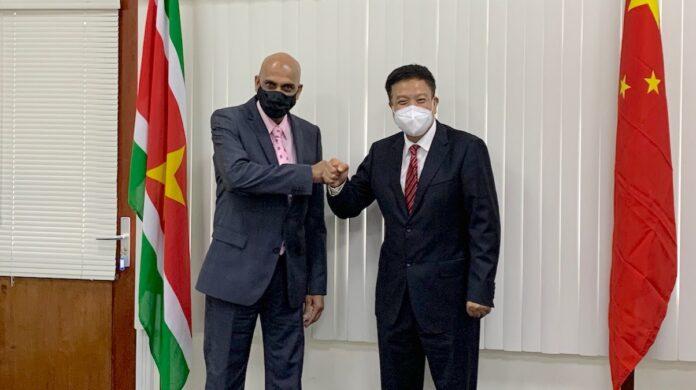 Suriname kan op steun China rekenen om duurzame ontwikkeling te bereiken