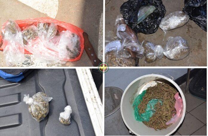 Drugs in beslag genomen bij aanhouding 6 drugsverdachten