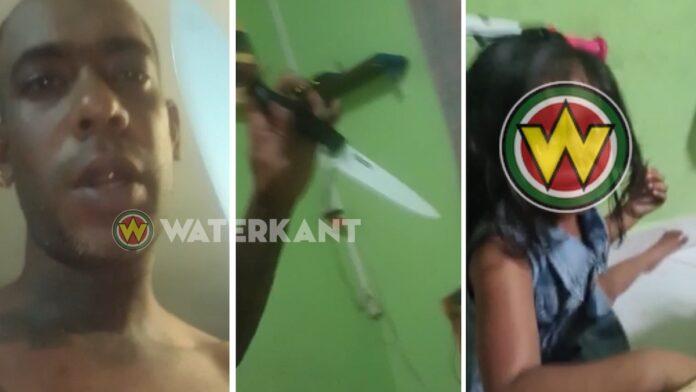 Politie houdt man aan die dochtertje slaat en met dood bedreigd