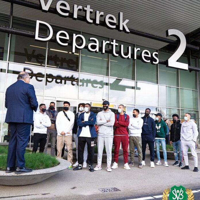 Diaspora spelers NATIO vertrokken naar Suriname
