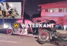 Drie doden nadat Mark-X bestuurder zonder rijbewijs inrijdt op mannen