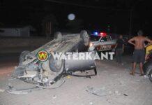 Dronken automobilist veroorzaakt ravage