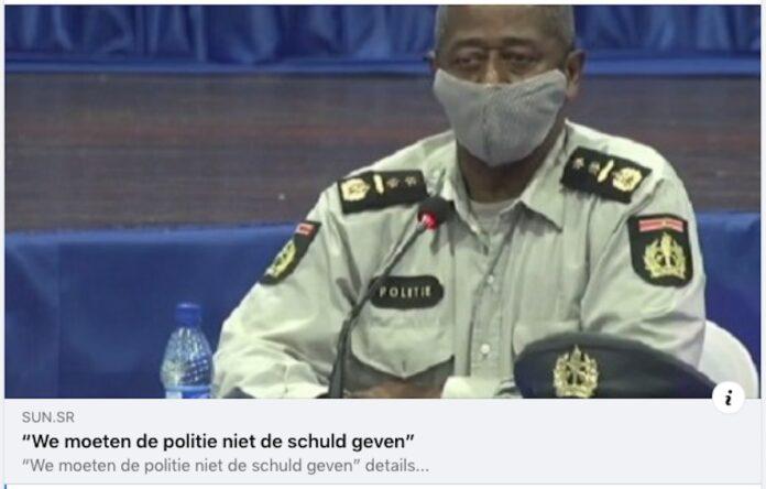 Nieuwssite SUN verzint interview met waarnemend korpschef Henry Seedorf