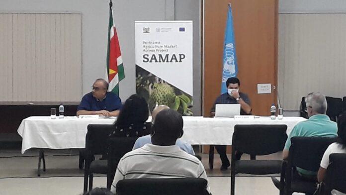 SAMAP start met informatiesessies in districten