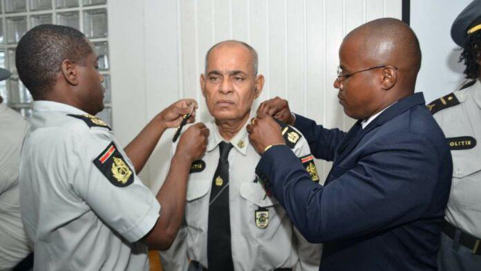 Commissaris van politie Orlando Changoer overleden