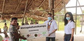 Opzet isolatie kampen in dorpen Bovenlandse Indianen