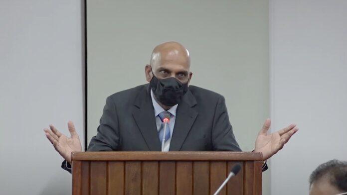 Minister Achaibersingh