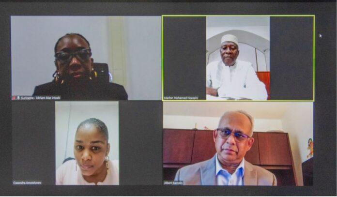 Eerste niet-residerend ambassadeur van Angola voor Suriname