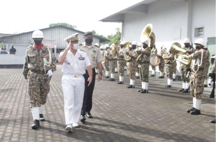 Bezoek generaal-majoor Buisson hoogtepunt in samenwerking Suriname-Frans-Guyana