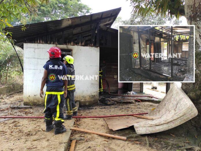 Flinke schade bij woningbrand Cassialaan