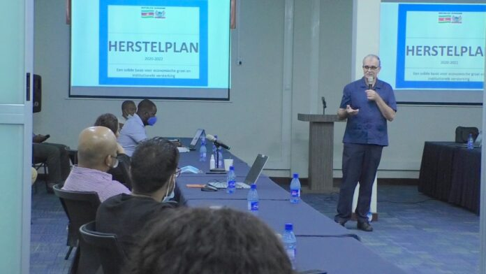 Communicatie over herstelplan Suriname ingaande maandag intensiever