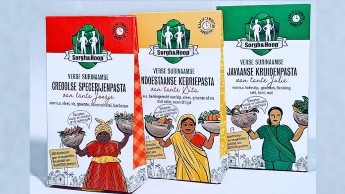 Surinaamse kruidenpasta's sinds kort bij de Nederlandse Jumbo's