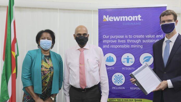 Newmont geeft US$10 miljoen financiële steun om economische crisis te verlichten