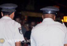 Agenten van het Korps Politie Suriname