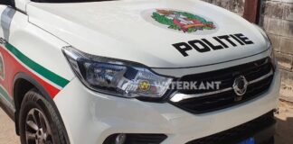 Politiepost Paranam bijna twee maanden zonder prowagen