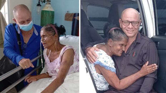 1 voor 12 betaalt één jaar zorg en opvang voor bejaarde mevrouw Sahadew